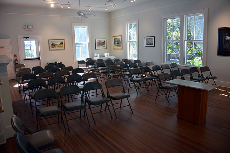 Lecture room at he Coastal Discovery Museum in Hilton Head, SC
