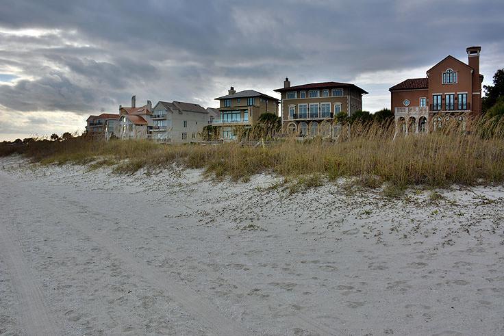 Beautiful Homes On The Beach Near Driessen Park In Hilton Head Sc